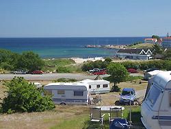 Bornholm: Folkemøde overnatning på camping  -  Sandvig Familie Camping