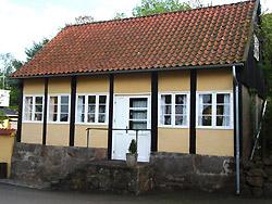 Bornholm: Folkemøde overnatning Sommerhus, Feriehus, Hotel, Pension  -  Gudhjem by