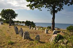 Seværdigheder, udflugtsmål og attraktioner på Bornholm. -  Hellig kvinde /  Heilige Frau
