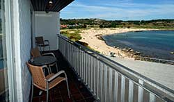 Bornholm: Folkemøde overnatning Sommerhus, Feriehus, Hotel, Pension  -  Strandpromenaden
