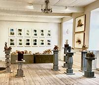 gallerier, Kunst, Kunstner und Kunsthaandvaerk - Bornholm    -  GALLERI KLEJN