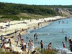 Camping, Familiecamping, campingplads, Campingpladser - Bornholm     -  Hasle Camping